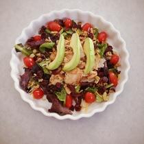 Sauteed Turkey Salad