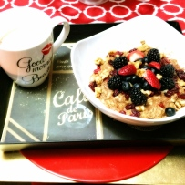 Oatmeal w/ Berries