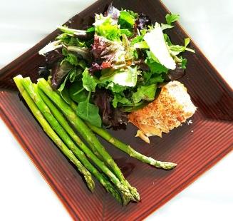 Salmon Salad w/ Asparagus