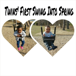 Twins first swing